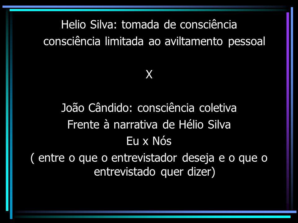 Helio Silva: tomada de consciência