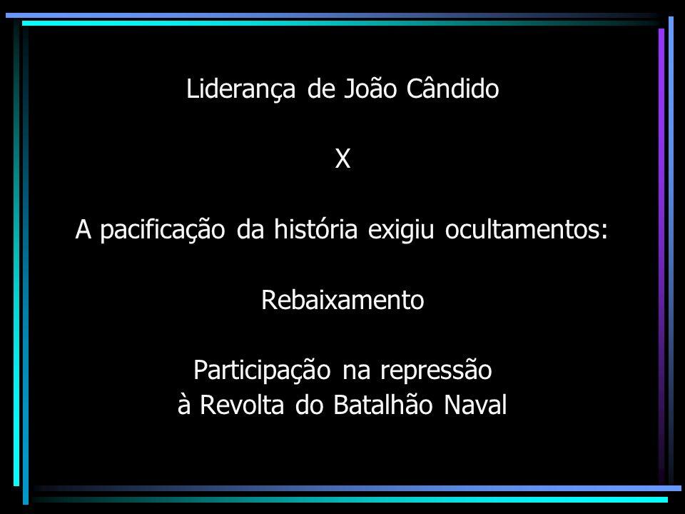 Liderança de João Cândido X