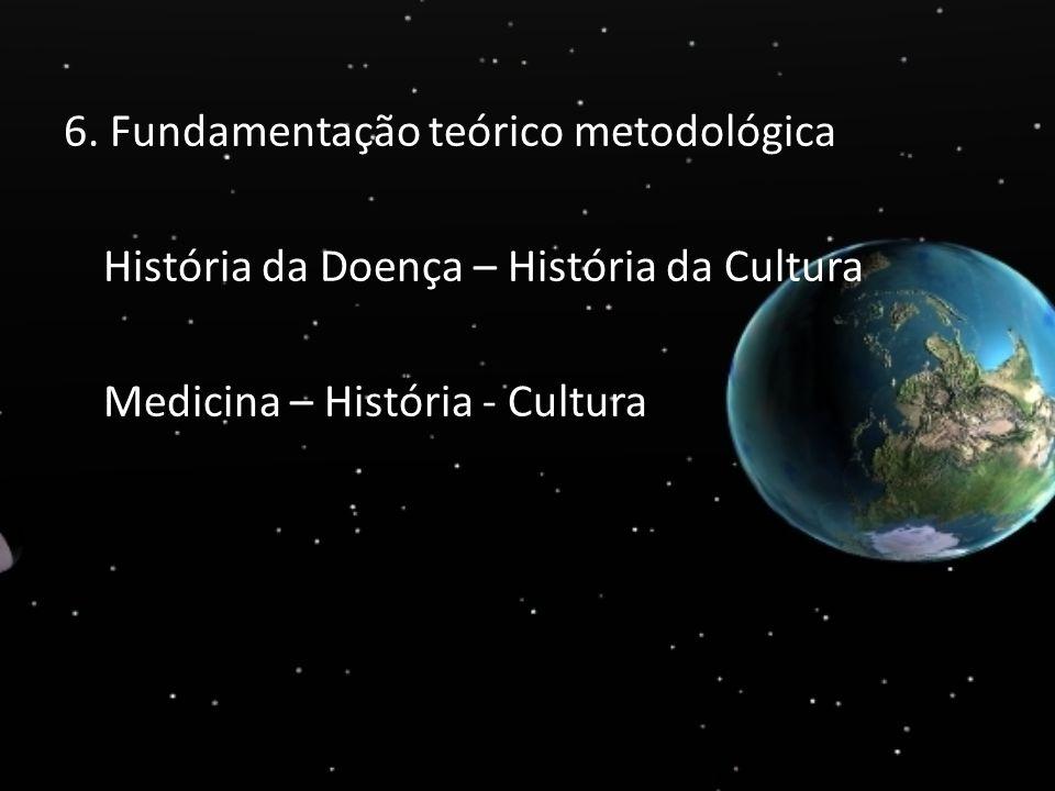 6. Fundamentação teórico metodológica