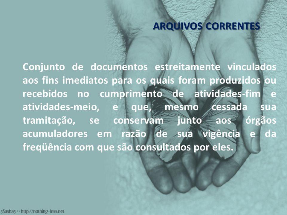 ARQUIVOS CORRENTES