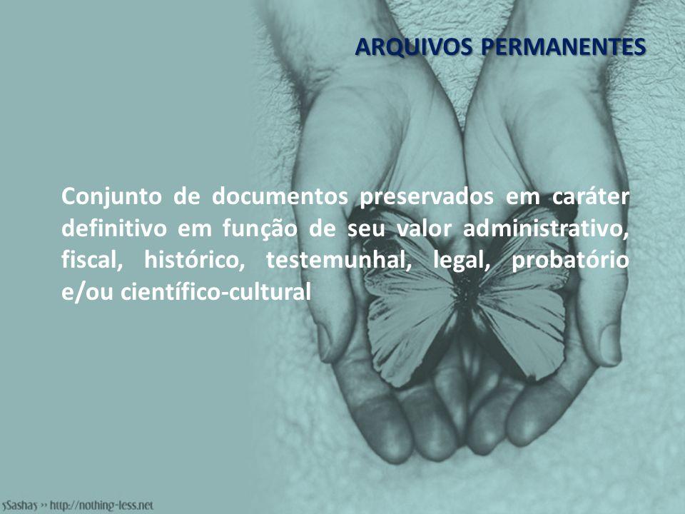 ARQUIVOS PERMANENTES
