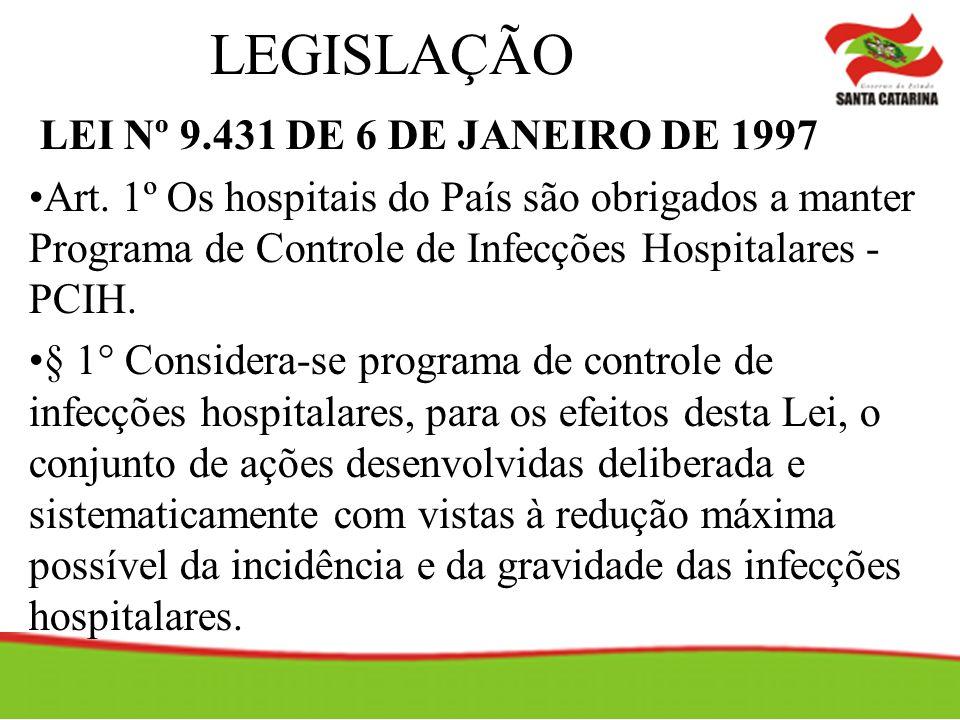LEGISLAÇÃO LEI Nº 9.431 DE 6 DE JANEIRO DE 1997