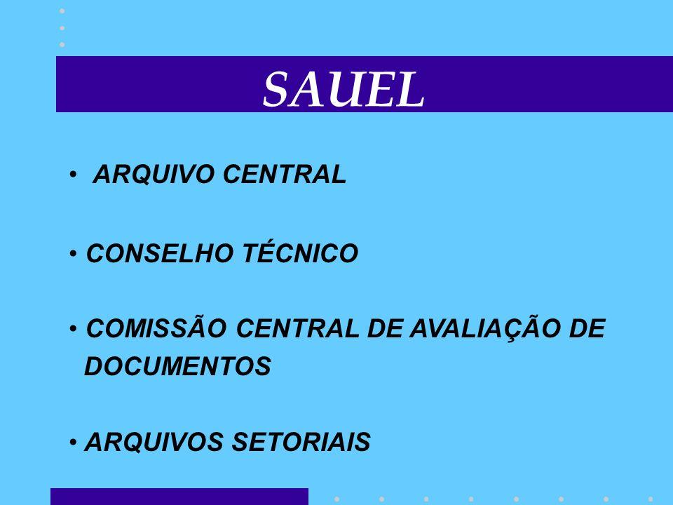 SAUEL ARQUIVO CENTRAL CONSELHO TÉCNICO