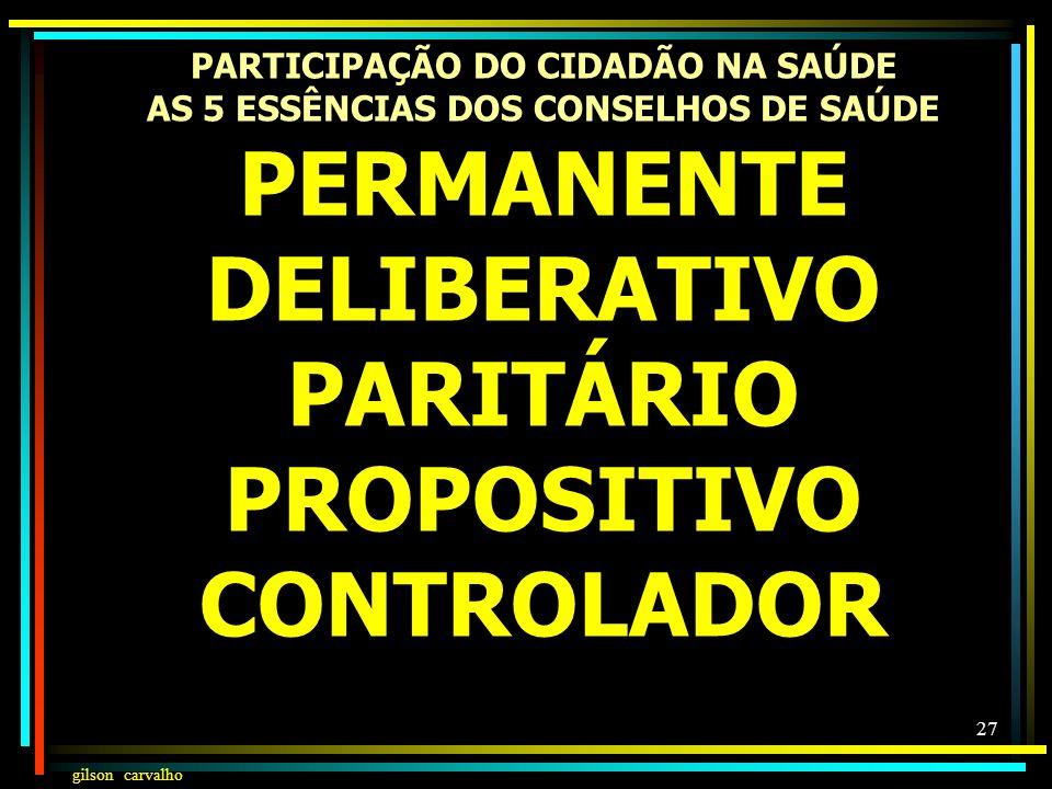 PARTICIPAÇÃO DO CIDADÃO NA SAÚDE AS 5 ESSÊNCIAS DOS CONSELHOS DE SAÚDE