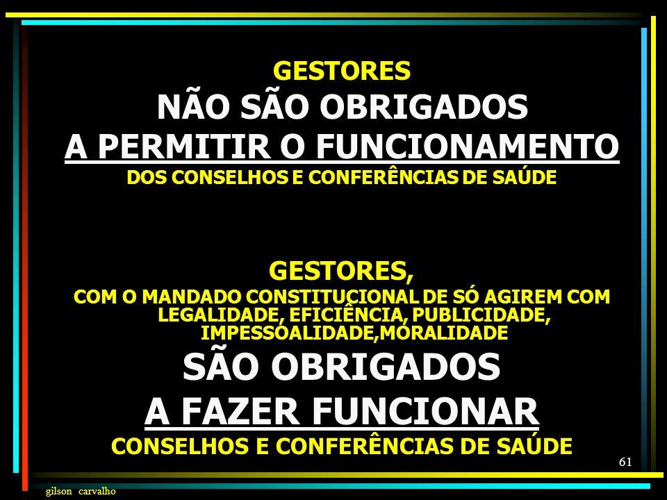 SÃO OBRIGADOS A FAZER FUNCIONAR
