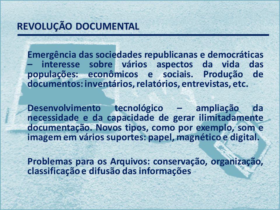 REVOLUÇÃO DOCUMENTAL