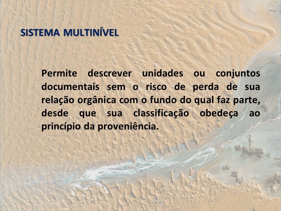 SISTEMA MULTINÍVEL