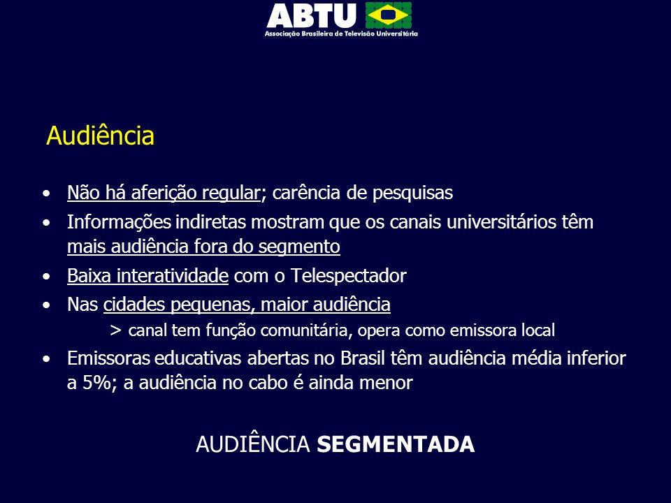 Audiência AUDIÊNCIA SEGMENTADA