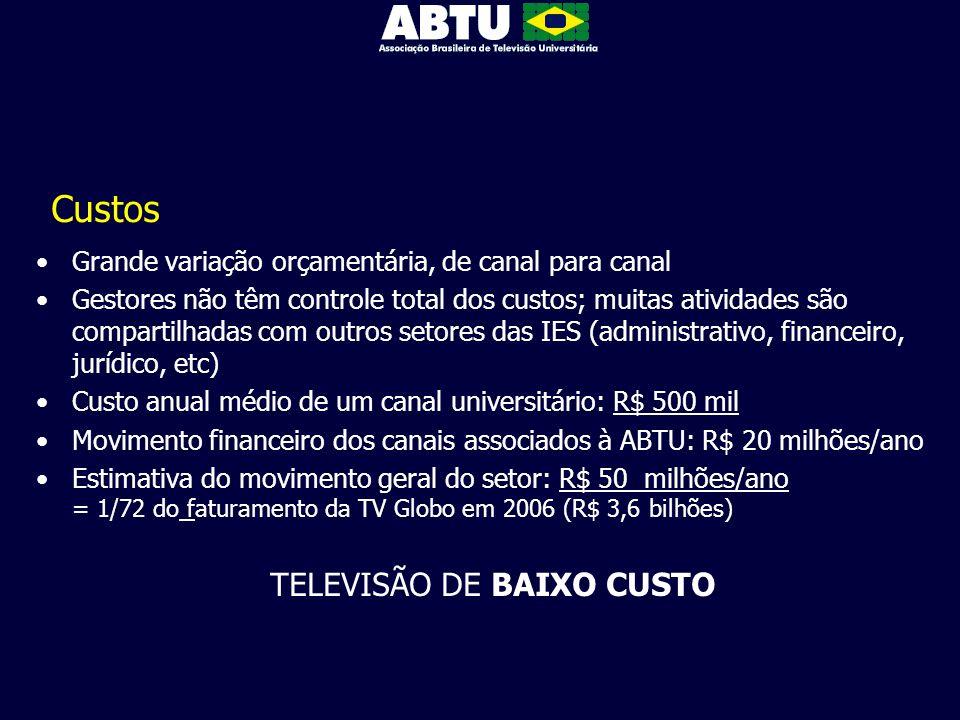 TELEVISÃO DE BAIXO CUSTO