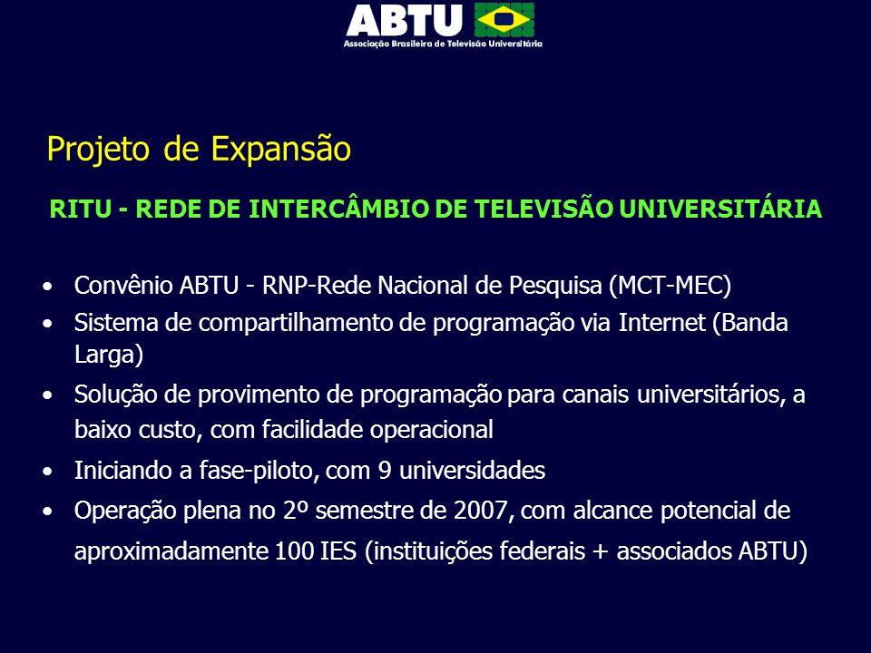 RITU - REDE DE INTERCÂMBIO DE TELEVISÃO UNIVERSITÁRIA
