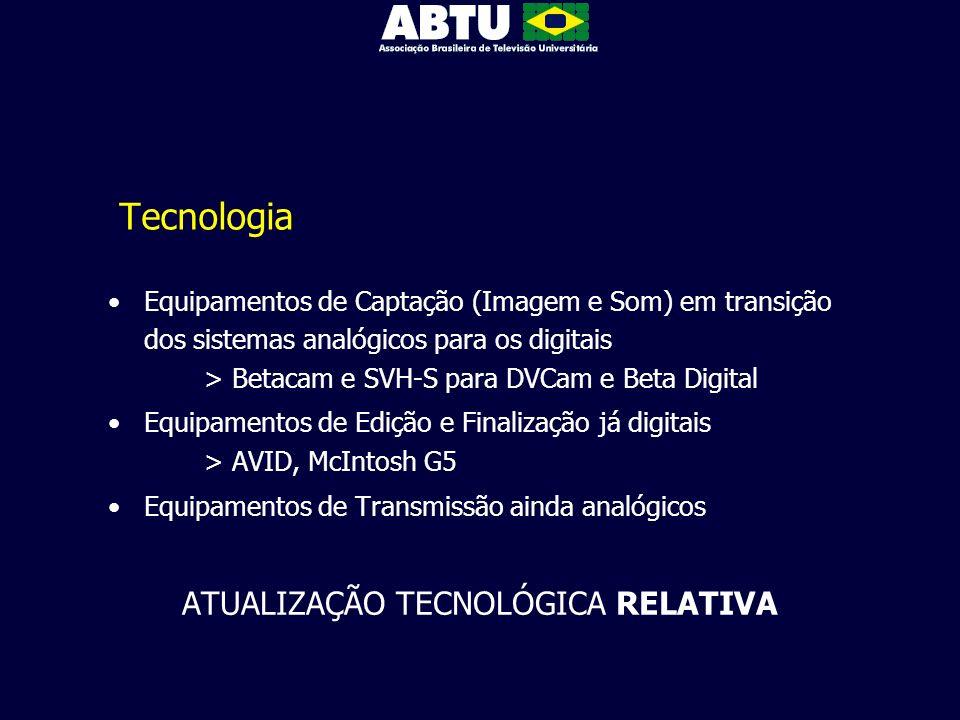 ATUALIZAÇÃO TECNOLÓGICA RELATIVA