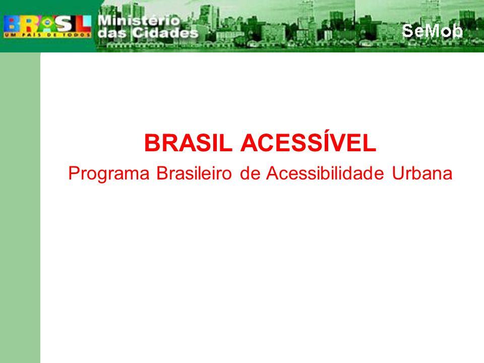 Programa Brasileiro de Acessibilidade Urbana