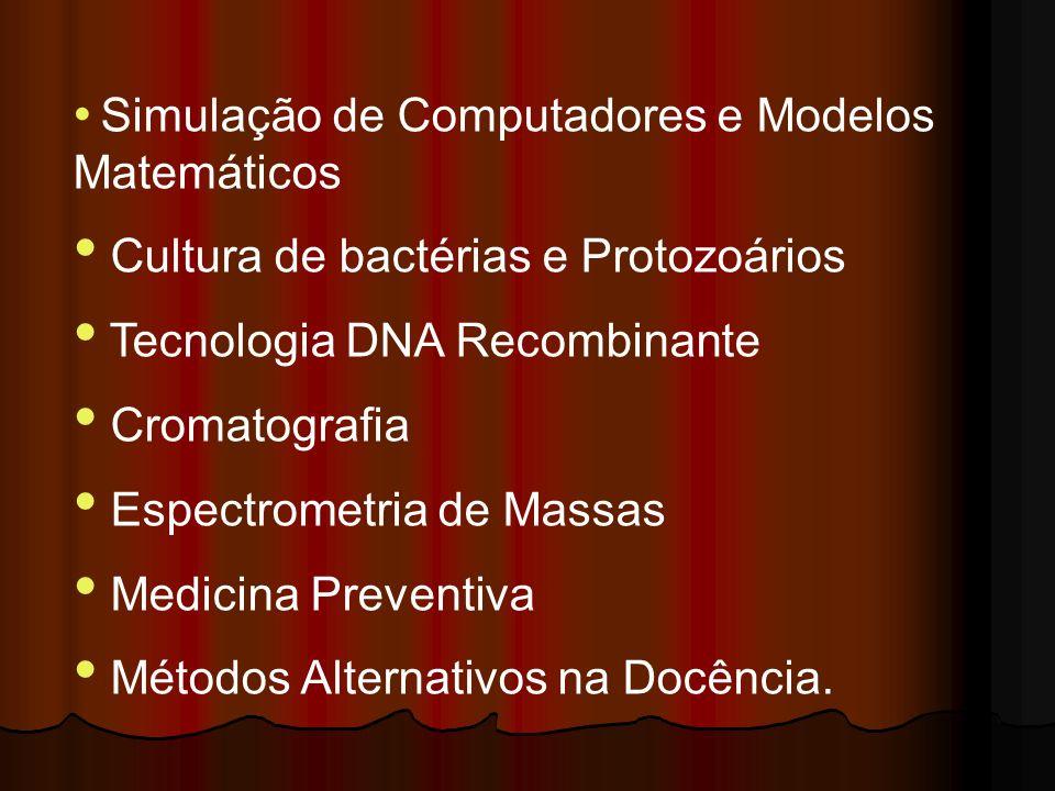 Cultura de bactérias e Protozoários Tecnologia DNA Recombinante