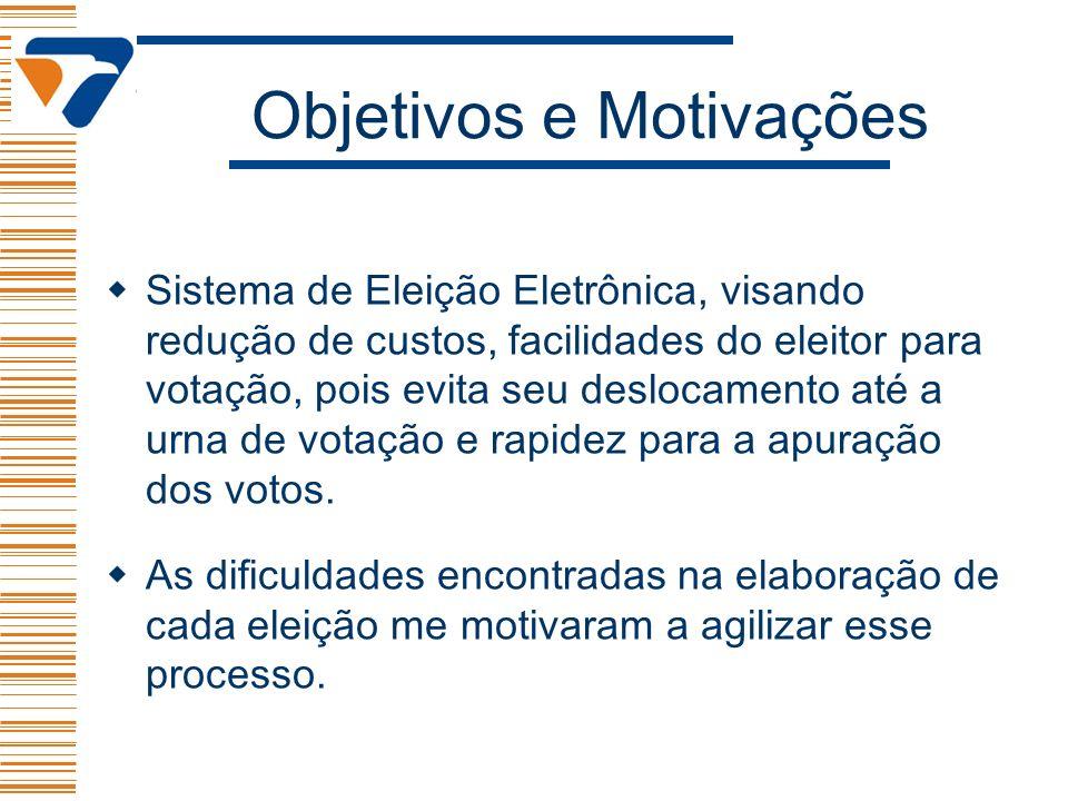 Objetivos e Motivações