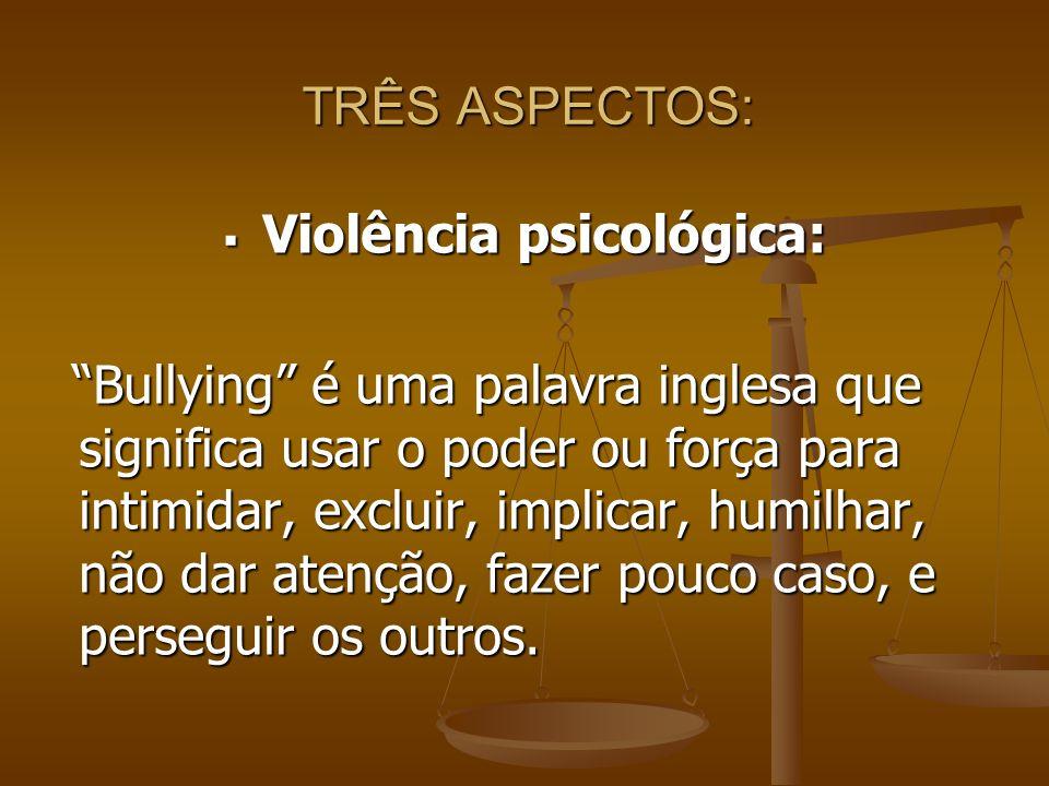 Violência psicológica: