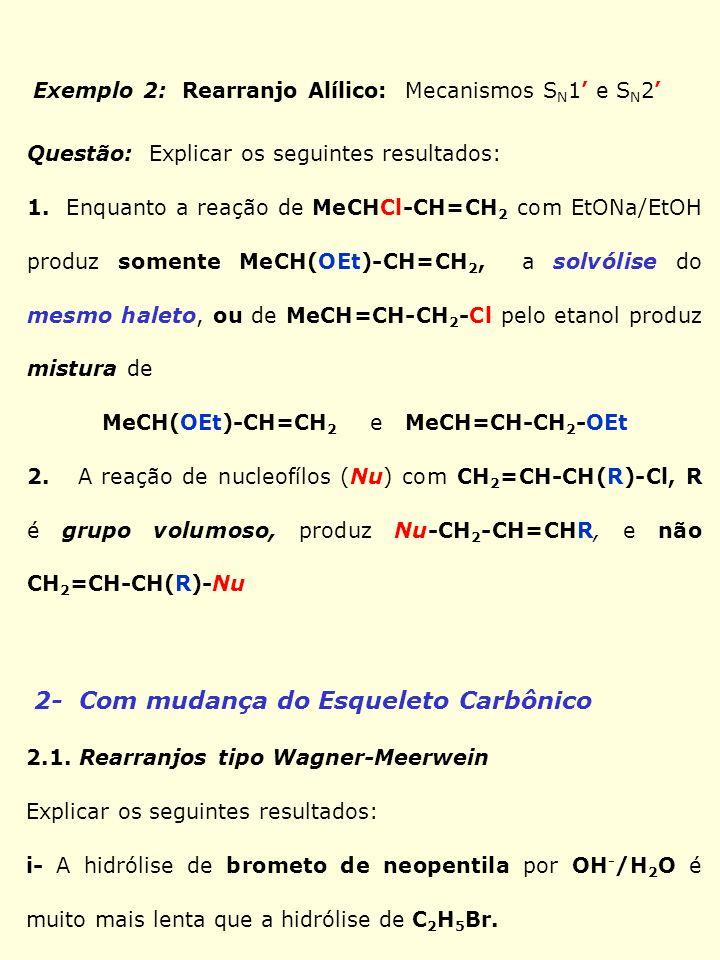MeCH(OEt)-CH=CH2 e MeCH=CH-CH2-OEt