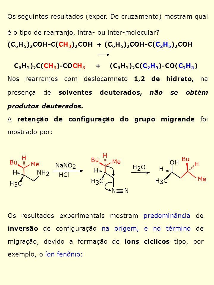 (C6H5)2COH-C(CH3)2COH + (C6H5)2COH-C(C2H5)2COH