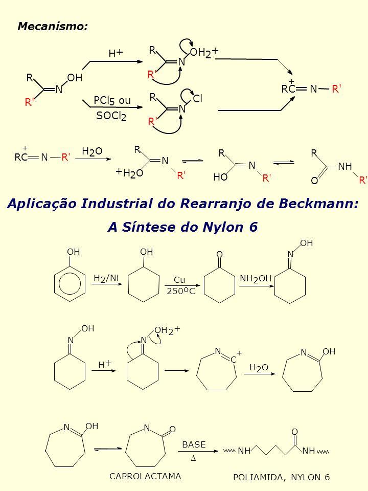 Aplicação Industrial do Rearranjo de Beckmann: