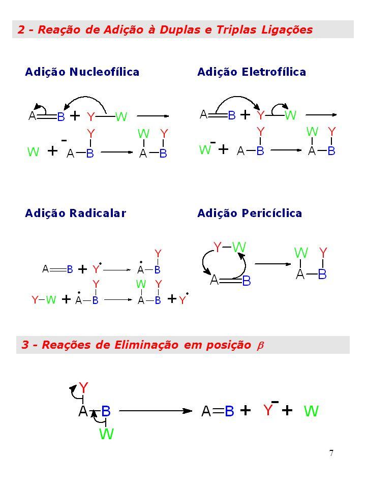 2 - Reação de Adição à Duplas e Triplas Ligações