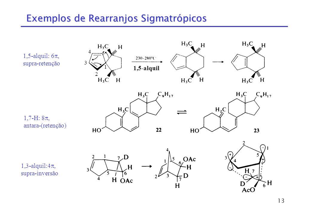 Exemplos de Rearranjos Sigmatrópicos