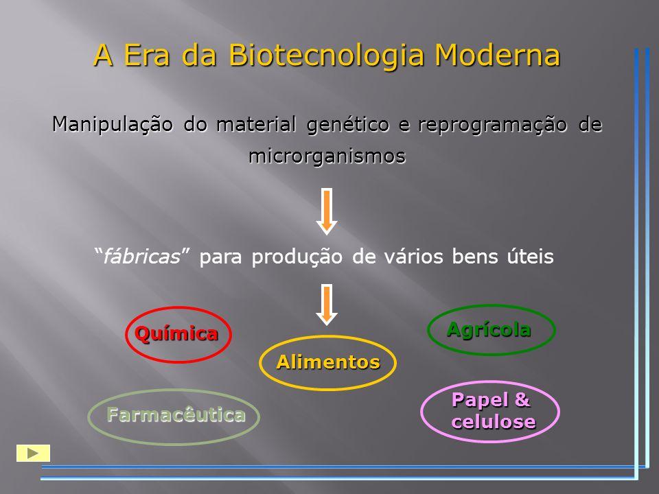A Era da Biotecnologia Moderna