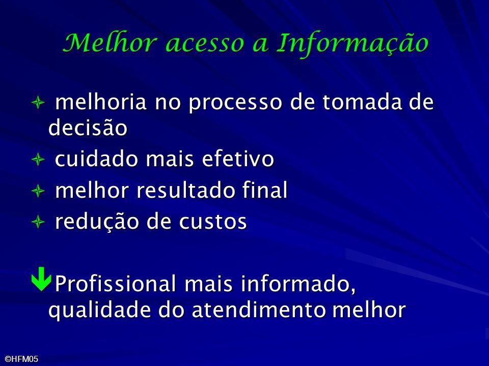 Melhor acesso a Informação