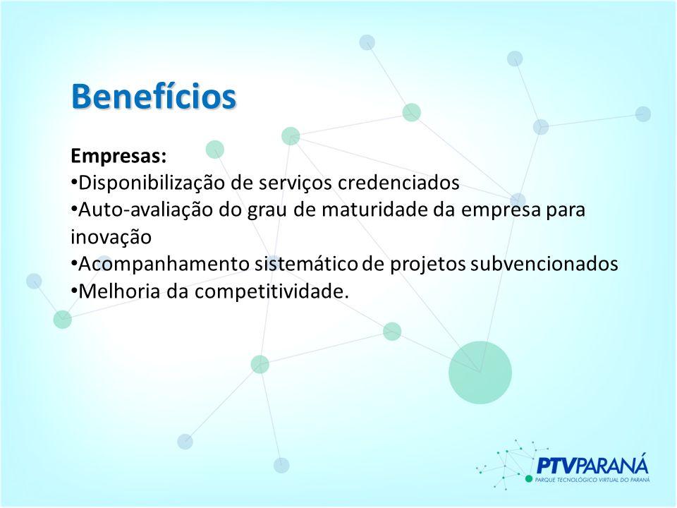 Benefícios Empresas: Disponibilização de serviços credenciados