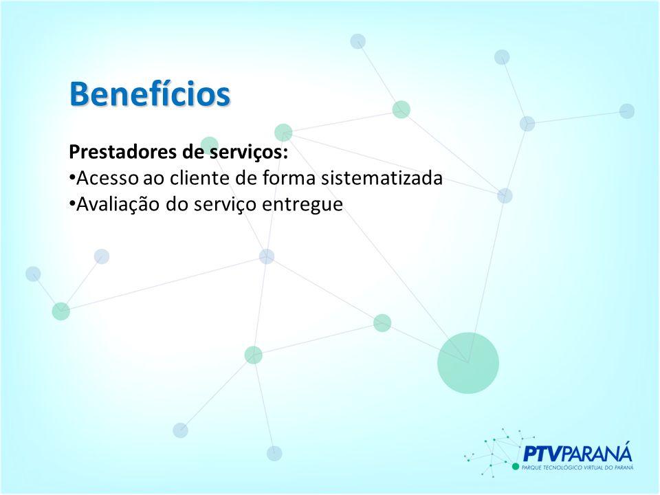Benefícios Prestadores de serviços: