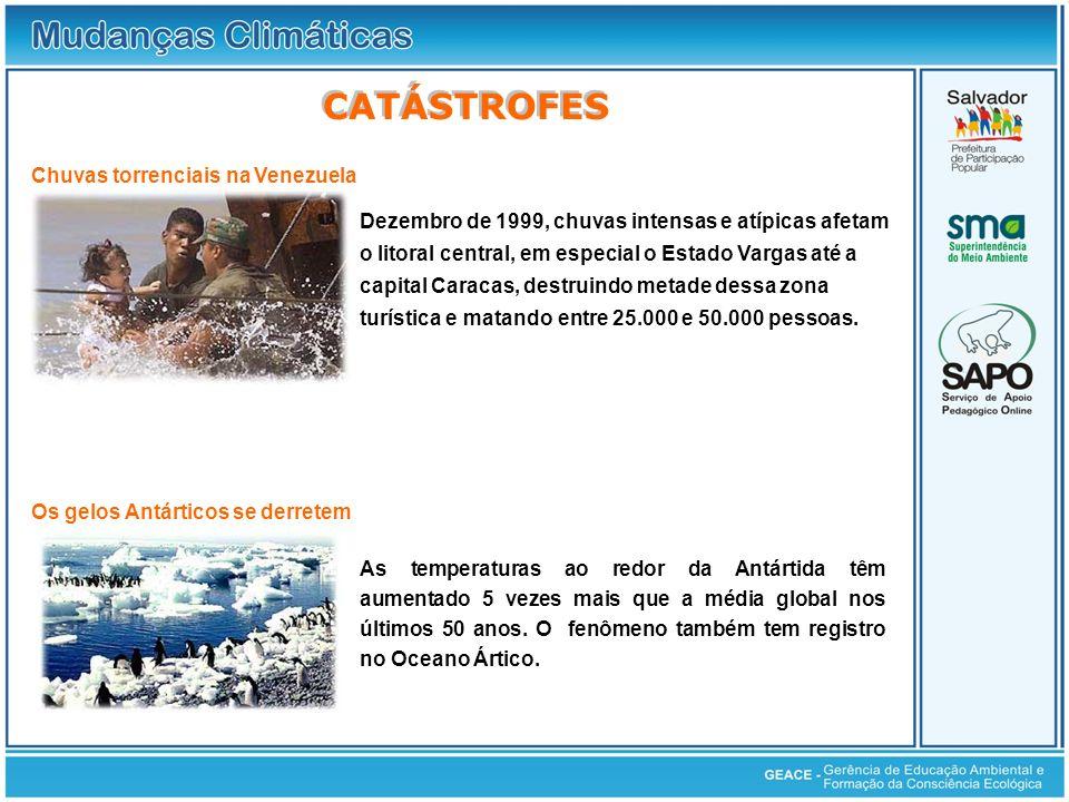 Catástrofes CATÁSTROFES Chuvas torrenciais na Venezuela