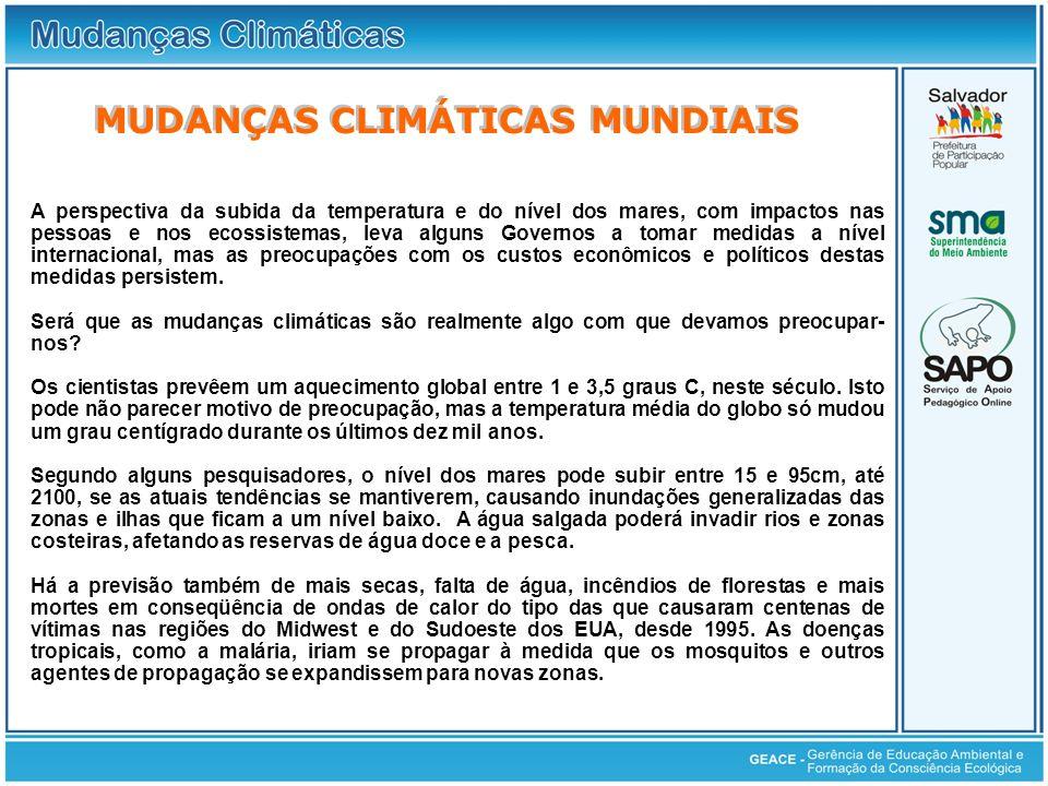 Mudanças Climáticas Mundiais