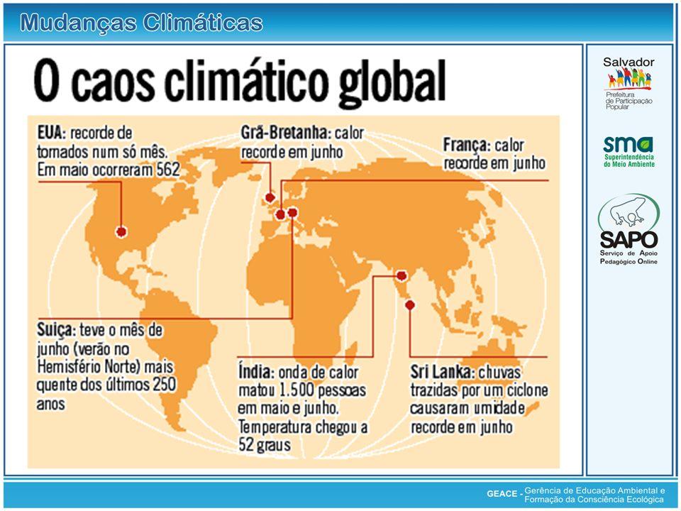 O Caos Climático Global