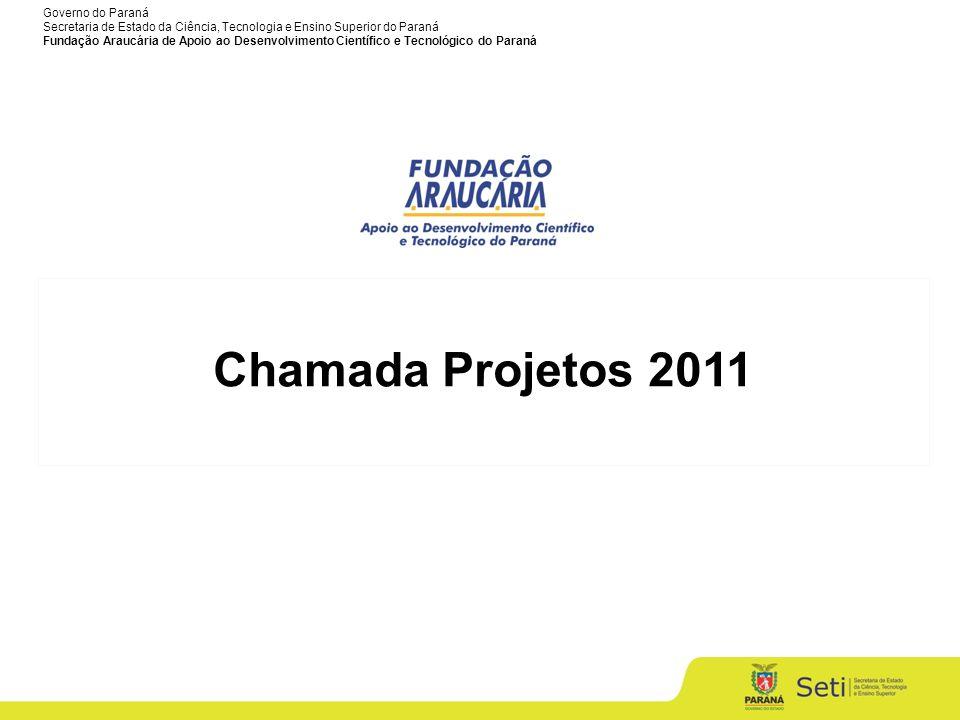 Chamada Projetos 2011