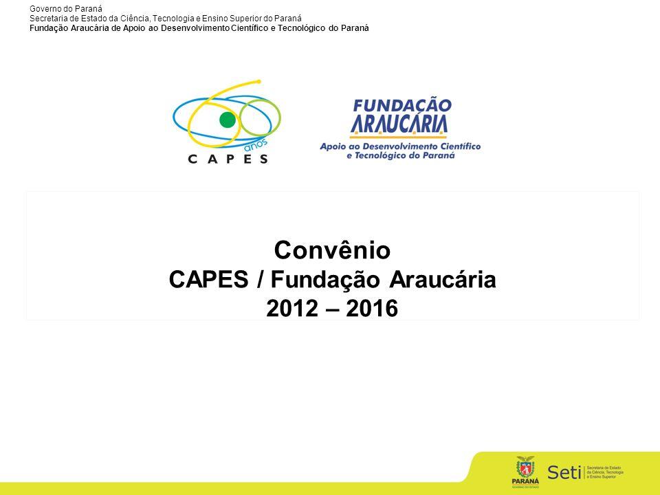 CAPES / Fundação Araucária