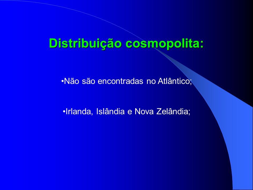 Distribuição cosmopolita: