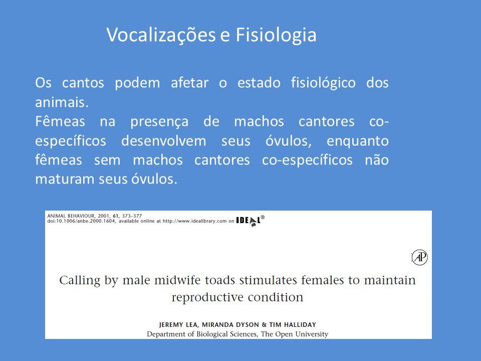 Vocalizações e Fisiologia