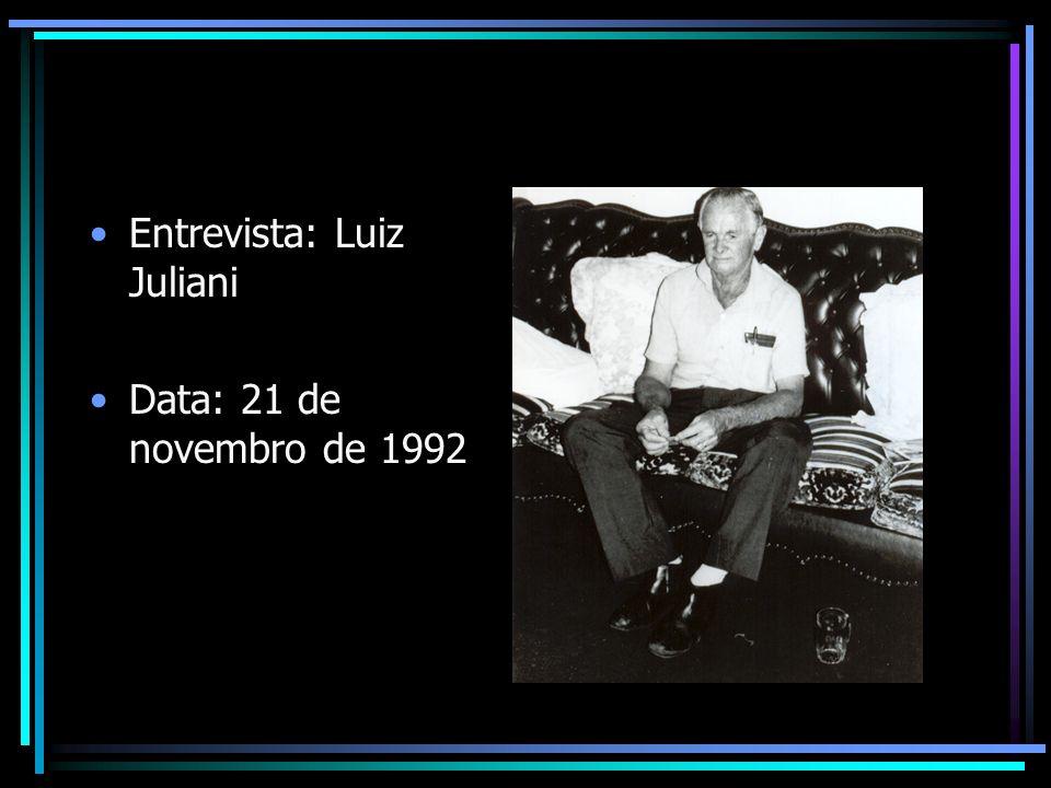 Entrevista: Luiz Juliani