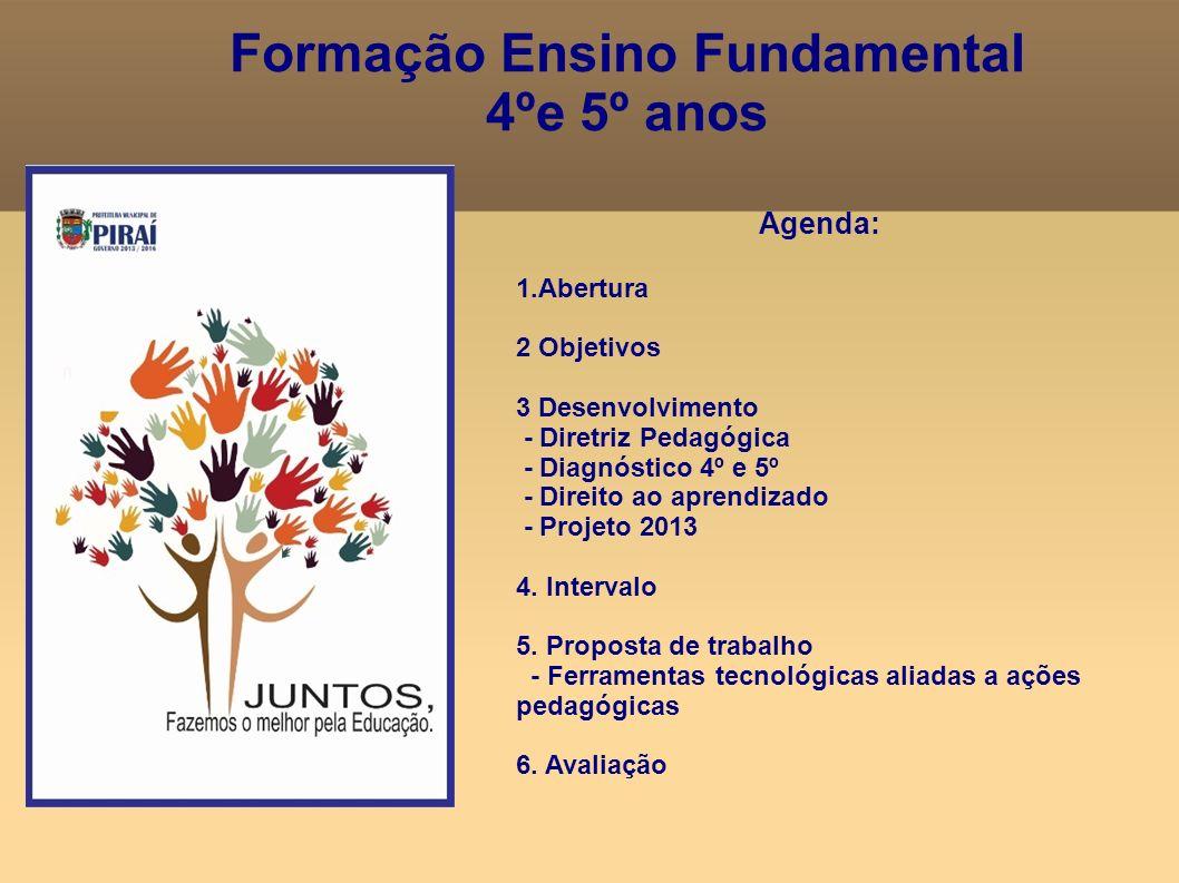 Formação Ensino Fundamental 4ºe 5º anos
