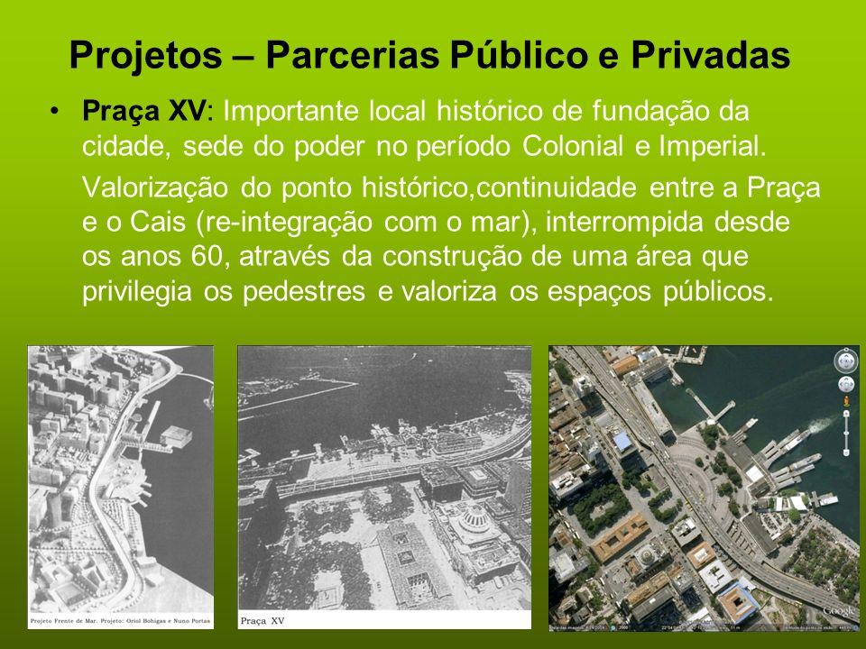 Projetos – Parcerias Público e Privadas