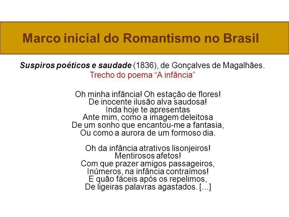 Marco inicial do Romantismo no Brasil