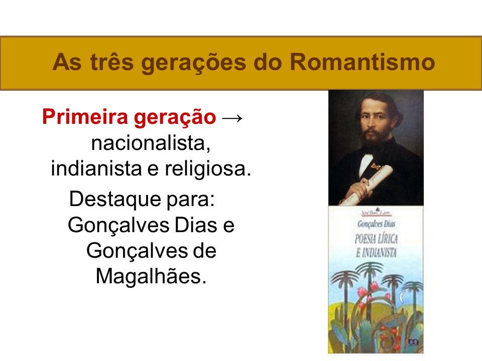 As três gerações do Romantismo