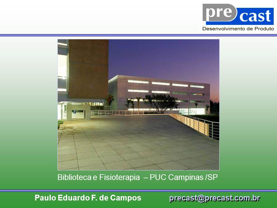 Biblioteca e Fisioterapia – PUC Campinas /SP