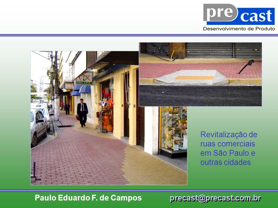Revitalização de ruas comerciais em São Paulo e outras cidades