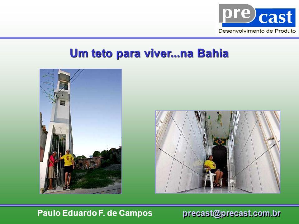 Um teto para viver...na Bahia