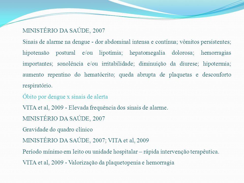 MINISTÉRIO DA SAÚDE, 2007