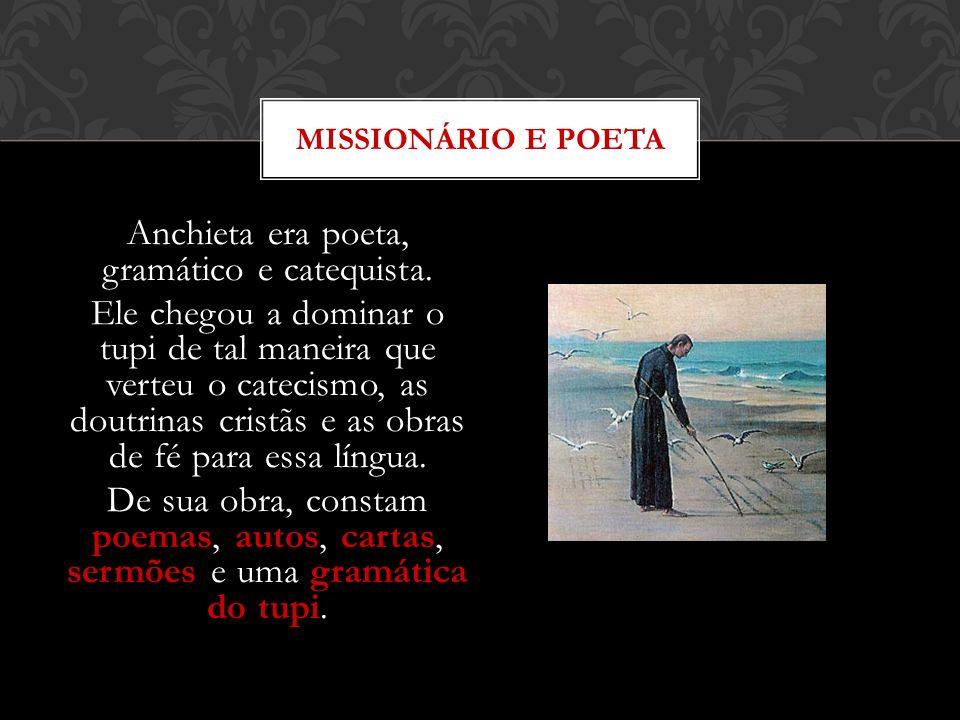 MISSIONÁRIO E POETA