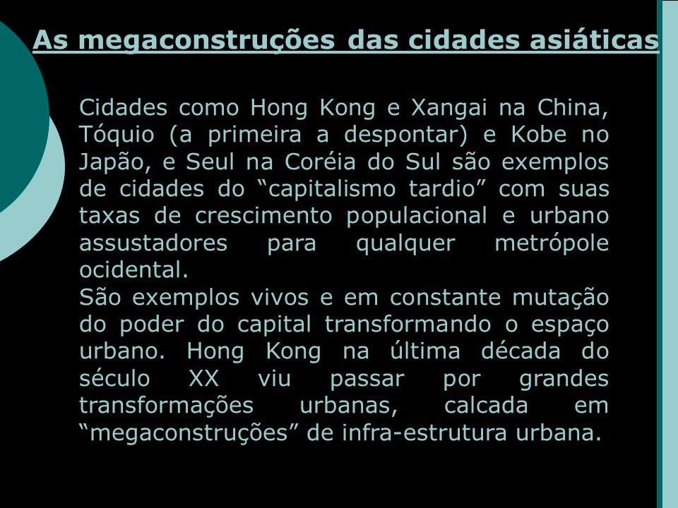 As megaconstruções das cidades asiáticas