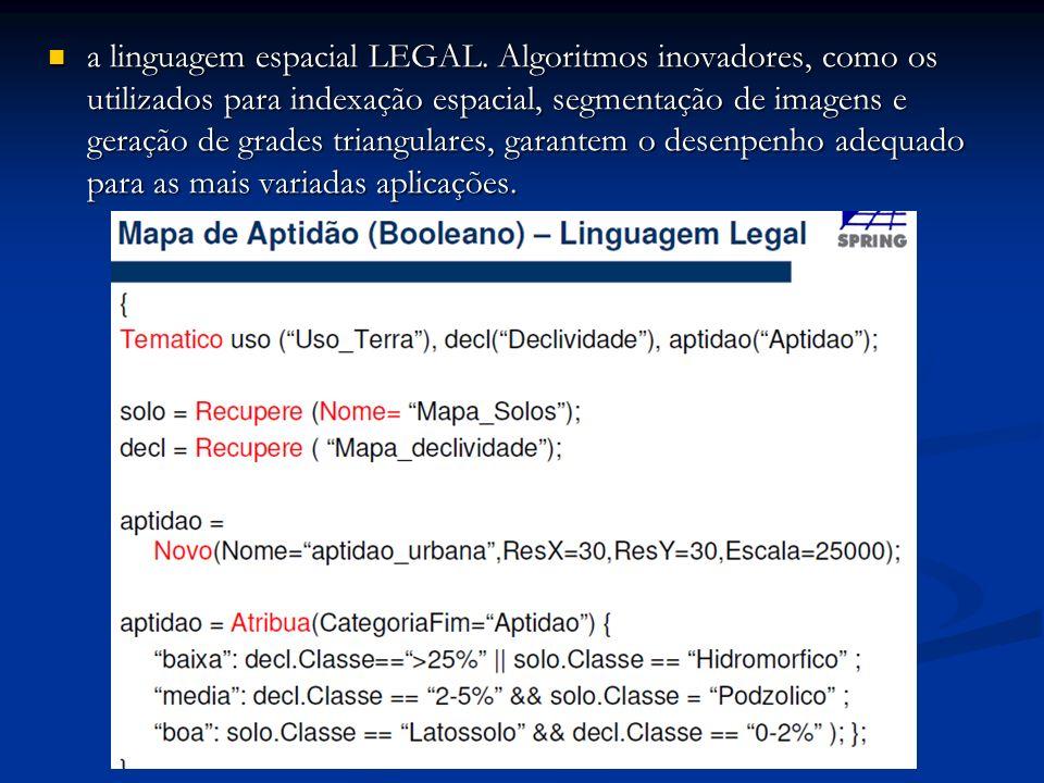 a linguagem espacial LEGAL