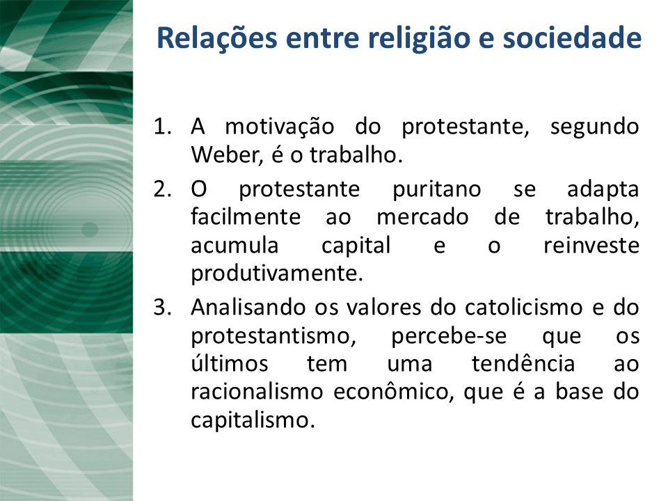 Relações entre religião e sociedade
