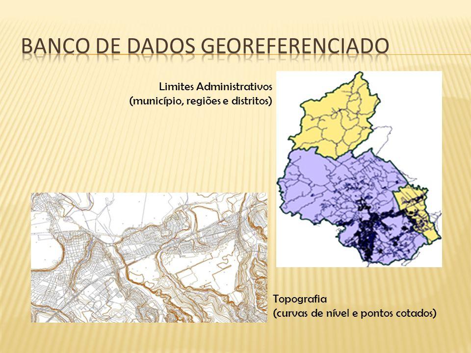Banco de dados georeferenciado