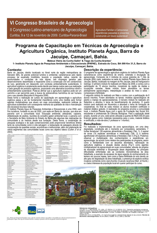 Mateus Vieira da Cunha Salim¹ & Tiago da Cunha Arantes¹